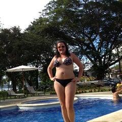 Photo taken at Club De Playa Hotel & Villas Nacazcol Playa Panamá by Karla on 10/8/2012