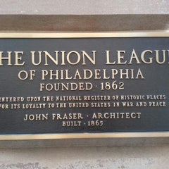 Photo taken at The Union League of Philadelphia by Ann H. on 2/2/2013