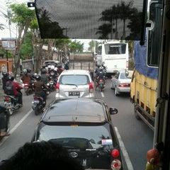 Photo taken at Jalan By Pass Ngurah Rai by Dewi A. on 12/18/2012