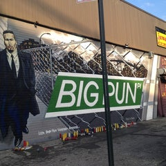 Photo taken at Big Pun Memorial Mural by Jorge on 6/9/2013