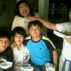 Photo taken at Jakarta International Korean School by Ina M. on 9/18/2012
