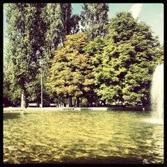 Photo taken at Seğmenler Parkı by Buket O. on 9/20/2012