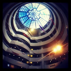 Photo taken at Solomon R. Guggenheim Museum by April Joy C. on 2/15/2013