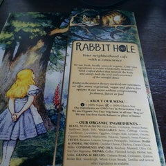 Photo taken at Rabbit Hole Cafe by Lin-duhh!! . on 4/1/2013