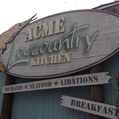 Photo taken at Acme Lowcountry Kitchen by Cheryl F. on 4/27/2013