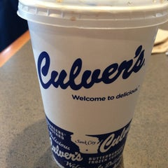 Photo taken at Culver's by Andrea on 1/5/2013