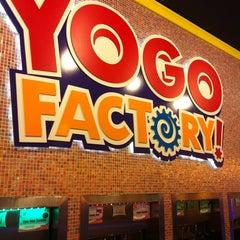 Photo taken at Yogo Factory by Steven on 1/14/2013