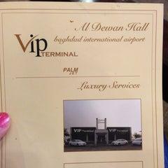 Photo taken at VIP Terminal Lounge by Suzan on 1/20/2013