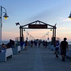 Photo taken at Belmont Veterans Memorial Pier by Tony C. on 10/2/2015