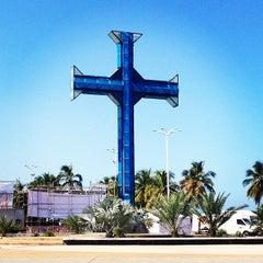 Photo taken at Plaza de la Cruz by Joseph on 11/16/2013
