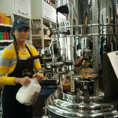 Photo taken at Caffe Lavazza @ Eataly by Darcy on 12/17/2012