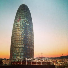 Photo taken at Novotel Barcelona City by Paolo on 12/31/2012