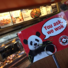 Photo taken at Panda Express by heather marie o. on 10/8/2014