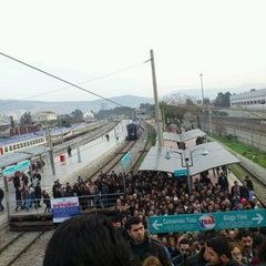 Photo taken at İzban Halkapınar İstasyonu by Uğurtan U. on 2/25/2013