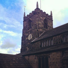 Photo taken at All Saints Church by Chris P. on 6/12/2013