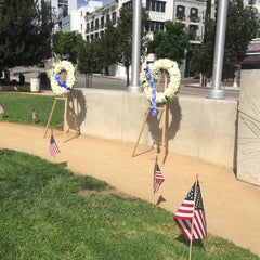 Photo taken at Sal Guarriello Veterans' Memorial by Alisha T. on 9/11/2015