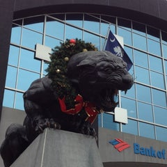 Photo taken at Bank of America Stadium by John B. on 12/9/2012