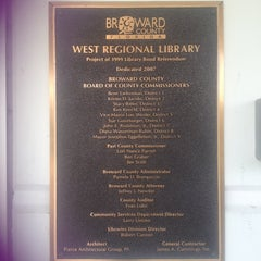 """Photo taken at West Regional Library by The """"Plum Crazy"""" R. on 3/23/2013"""