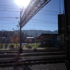 Photo taken at Bahnhof Rotkreuz by Vicky L. on 11/3/2014