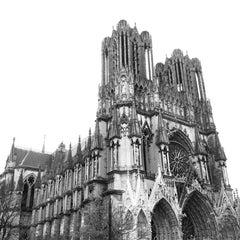 Photo taken at Cathédrale Notre-Dame de Reims by Krzysiek Ś. on 11/10/2012