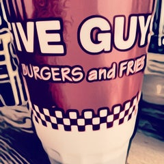 Photo taken at Five Guys by Brian M. on 2/26/2014