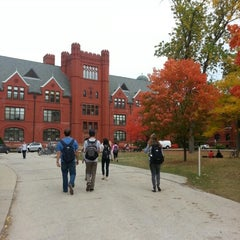 Photo taken at UWM Merrill Hall by Leah T. on 10/4/2012