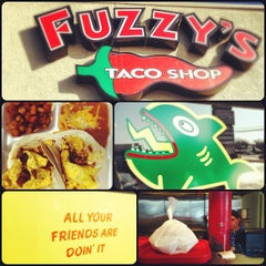 Photo taken at Fuzzy's Taco Shop by jonathan s. on 12/4/2012