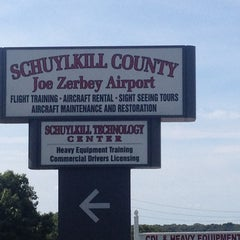Photo taken at Schuylkill County/Joe Zerby Airport (ZER) by Fred M. on 8/16/2014