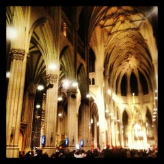 Photo taken at St. Patrick's Cathedral by Allison S. on 12/2/2012