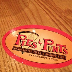 Photo taken at Pies and Pints Pizzeria by Jeremy on 2/18/2013