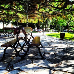 Photo taken at Jardim do Príncipe Real by Francisco M. on 8/15/2013