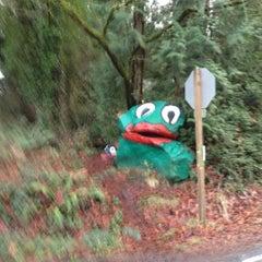 Photo taken at Frog Rock by Joel K. on 1/2/2013