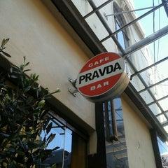 Photo taken at Pravda Café by Anna P. on 8/29/2012