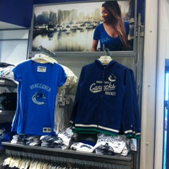 Photo taken at Canucks Team Store by Olga on 11/25/2013