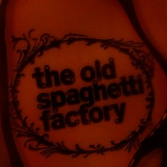 Photo taken at Old Spaghetti Factory by Aly P. on 2/17/2013