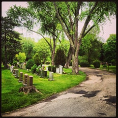 Photo taken at Park Lawn Cemetery by Robert on 6/7/2013