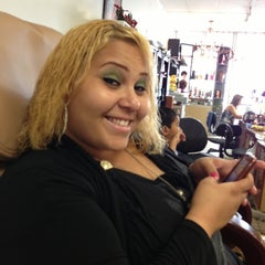 Photo taken at Ewa Hair And Nail Salon by Ester C. on 12/10/2012