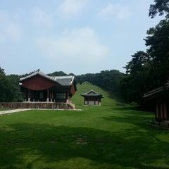 Photo taken at 동구릉 by OJ S. on 7/27/2014