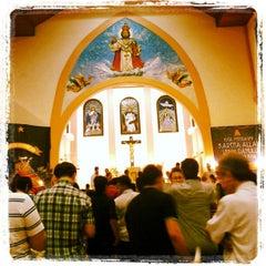 Photo taken at Gereja Katolik Kristus Raja by Felisitas  Flora S. on 12/25/2012