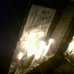 Photo taken at Obando Cemetery by Sean D. on 11/1/2012