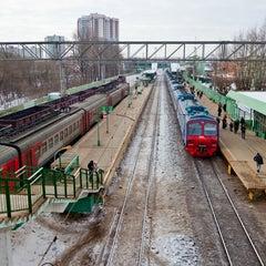 Photo taken at Станция «Одинцово» by Andrey N. on 4/4/2013