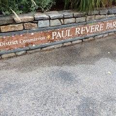 Photo taken at Paul Revere Park by Michelle J. on 9/29/2012
