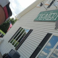 Photo taken at The Collins Creamery by Mike C. on 8/6/2013