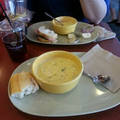 Photo taken at Panera Bread by Alexis on 6/11/2013