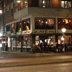 Photo taken at Café 60 by Urs M. on 12/31/2012