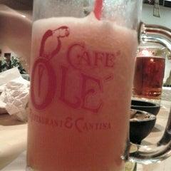 Photo taken at Cafe Ole by Medina G. on 11/19/2012