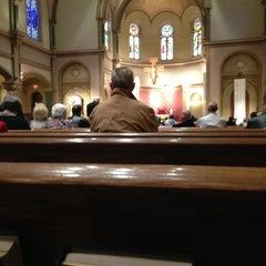 Photo taken at St Charles Borromeo Catholic Church by Mat M. on 5/5/2013