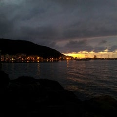 Photo taken at Scogliera di Marciana Marina by Arianna C. on 10/1/2012