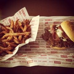Photo taken at Smashburger by Wayne on 3/22/2013