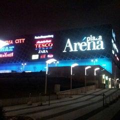 Photo taken at Arena Plaza by VARGA B. on 3/1/2013